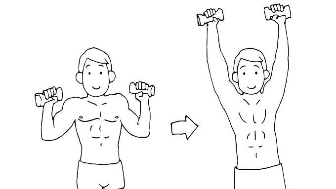肩こり予防解消トレーニング2